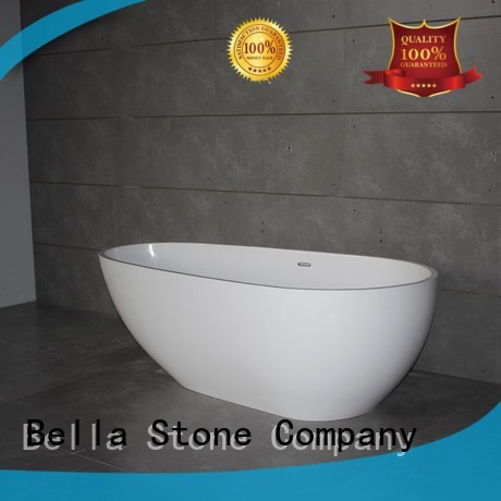 Bella Brand artificialstone lightweight pure custom 60 freestanding bathtub