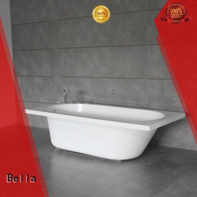 solidsurface resin artificialstone 60 freestanding bathtub Bella Brand
