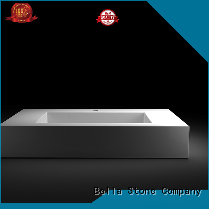 counter Solid Surface Bella Brand above counter basins