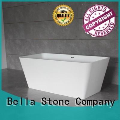 Hot artificialstone 60 freestanding bathtub acrylic Bella Brand