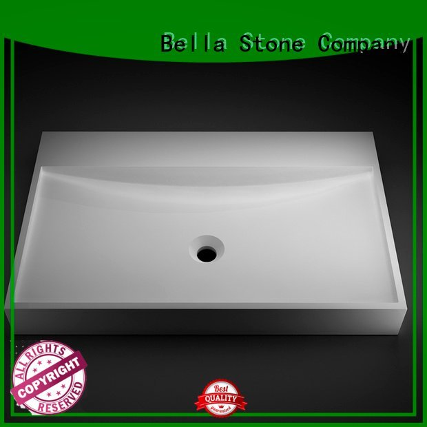 Gloss Solid Surface Bella wash basin price