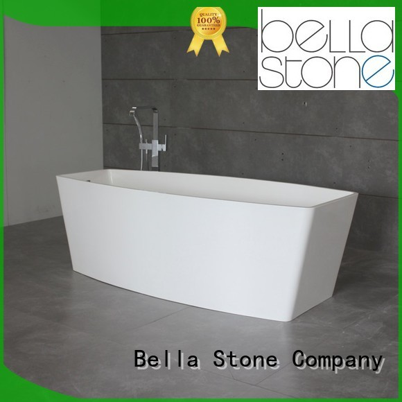 resin freestanding 60 freestanding bathtub designer pure Bella Brand