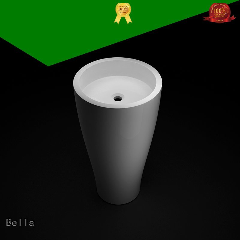 pedestal basin sink Onyx Matte pedestal basin Bella Brand
