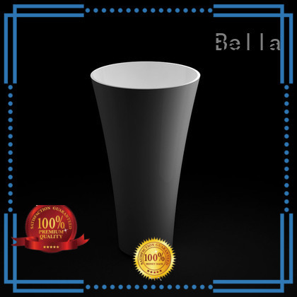 Onyx Matte pedestal basin Calcutta Bella Brand