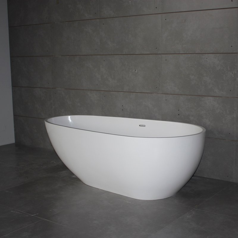 Bella Solid Surface Bathtub BS-S06 1700 Free-standing Bathtubs image41