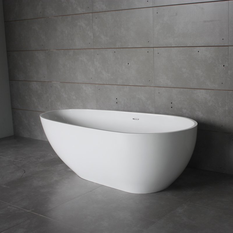 Bella Solid Surface Bathtub BS-S06 1800 Free-standing Bathtubs image35