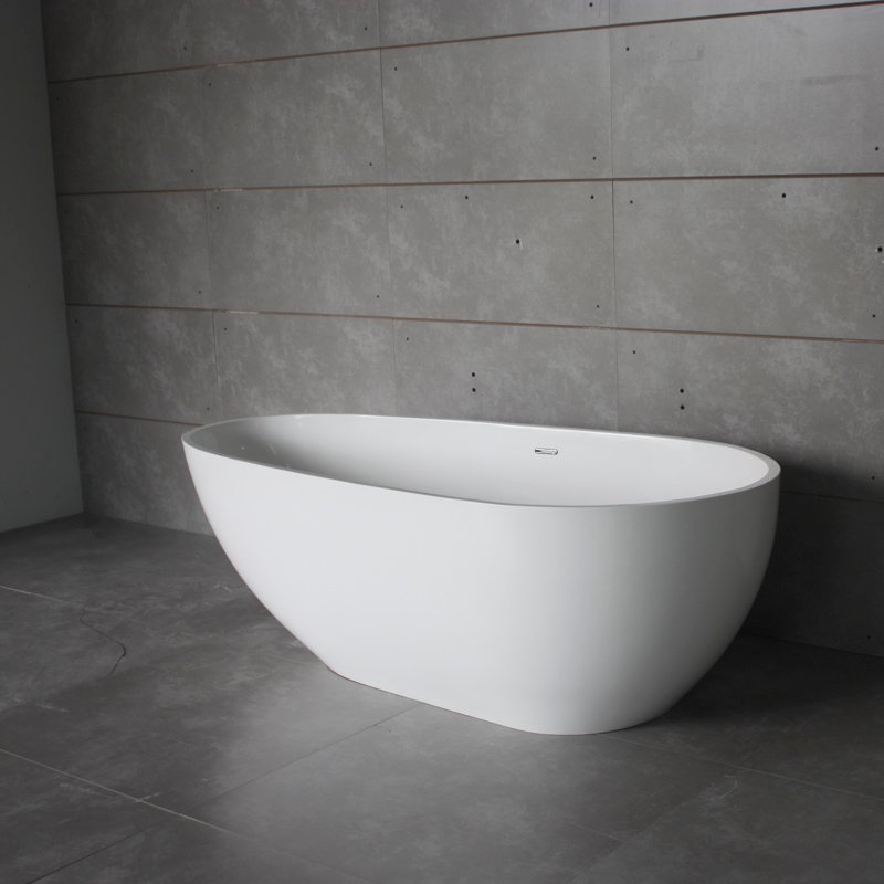 Bella Artificial Stone Tub BS-S06 1850 Free-standing Bathtubs image34