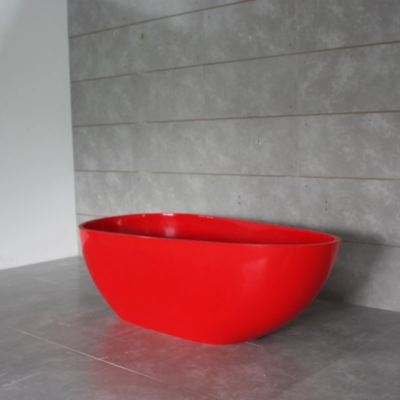 Solid Surface Bathtub BS-S06C 1480