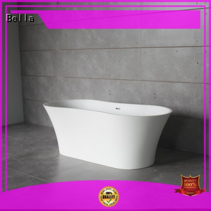 60 freestanding bathtub artificialstone capital Bulk Buy solidsurface Bella
