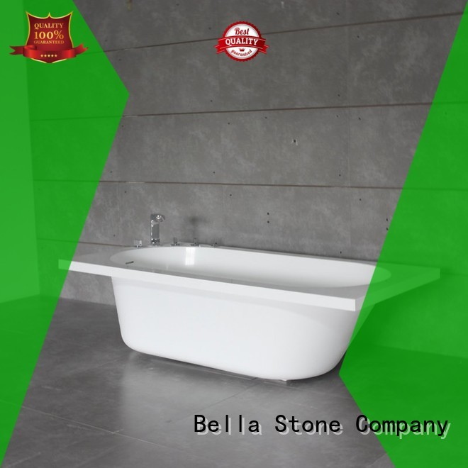 60 freestanding bathtub capital artificialstone lightweight Bella Brand company