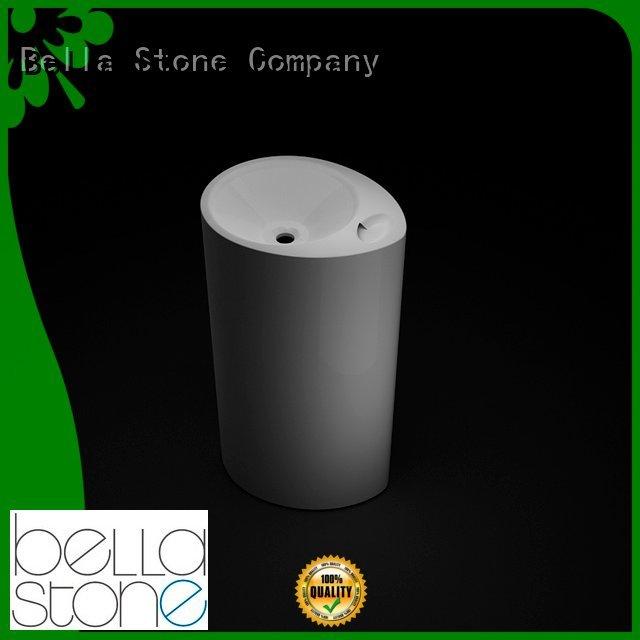 Gloss Matte Bella pedestal wash basin