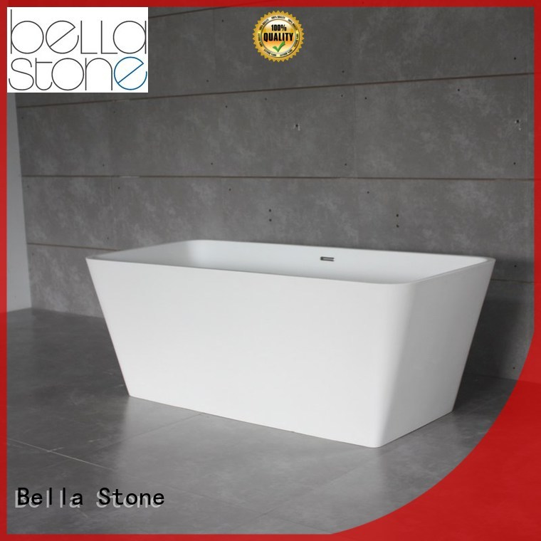 pure capital modified OEM deep freestanding tub Bella