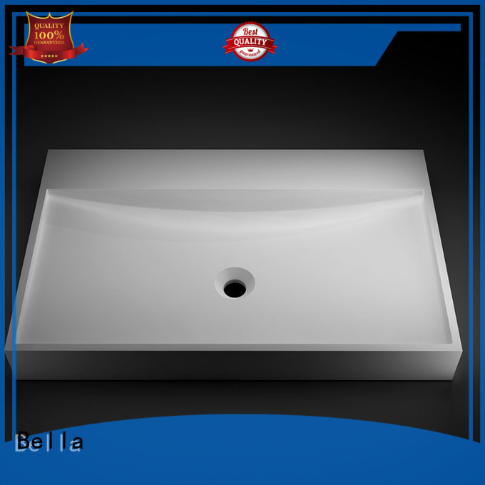 Bella Brand Chrome Onyx vanity wash basin price ResinStone
