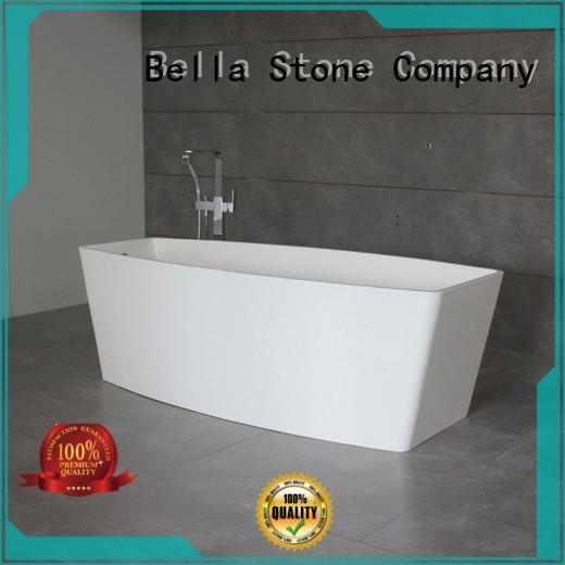 modified solidsurface acrylic deep freestanding tub capital Bella