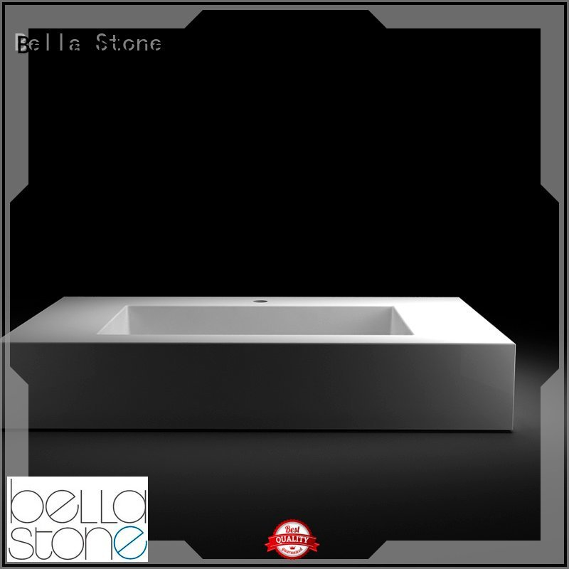 Quartz Onyx above above counter basins Bella