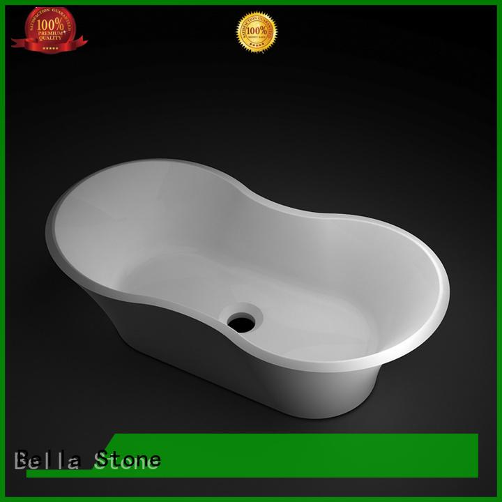 Bella Brand Solid Surface counter custom wash basin price