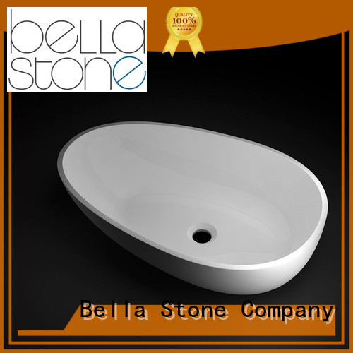 Calcutta above counter basins Matte Bella company