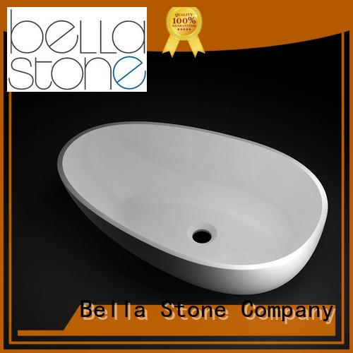 Calcutta above counter basins Matte Bella company