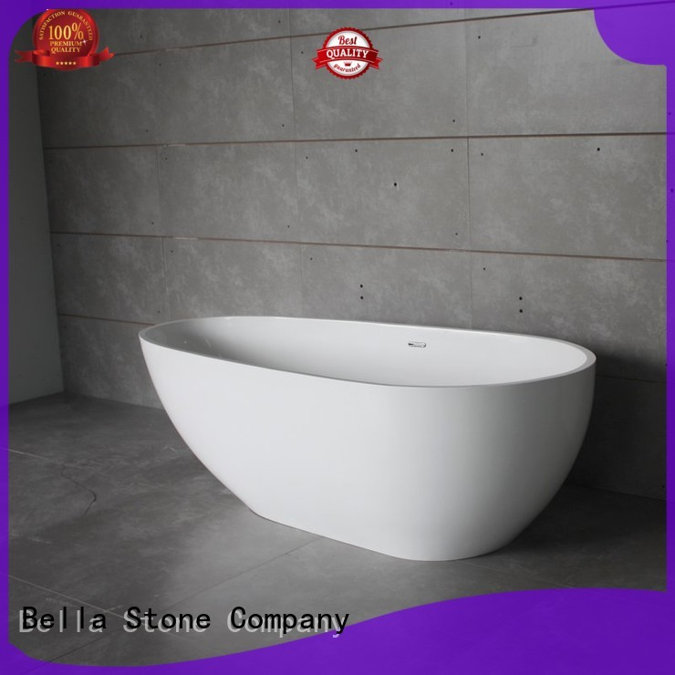 Bella Brand artificialstone acrylic deep freestanding tub manufacture