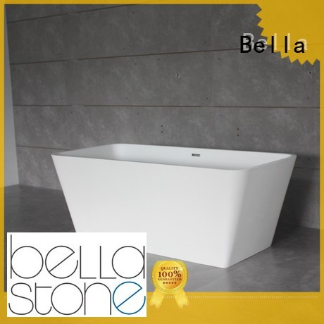 resin solidsurface deep freestanding tub modified Bella Brand
