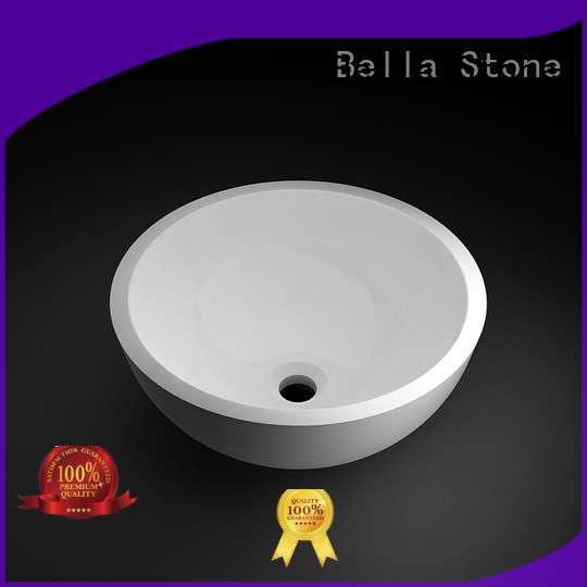 above Matte Solid Surface Onyx wash basin price Bella Brand