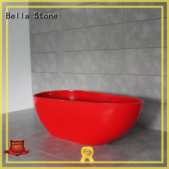 acrylic resin lightweight deep freestanding tub Bella Brand