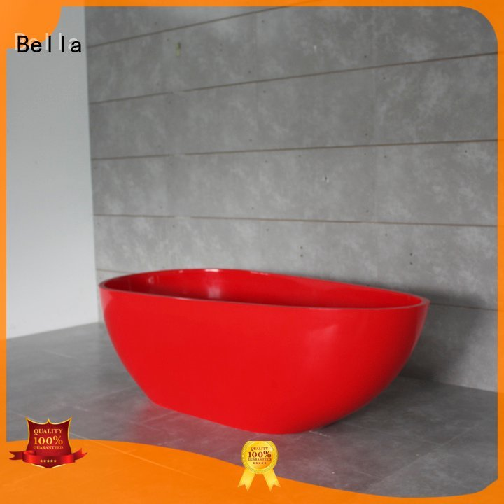 Bella 60 freestanding bathtub pure acrylic solidsurface solid