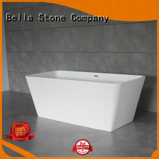 pure designer surface resin Bella 60 freestanding bathtub