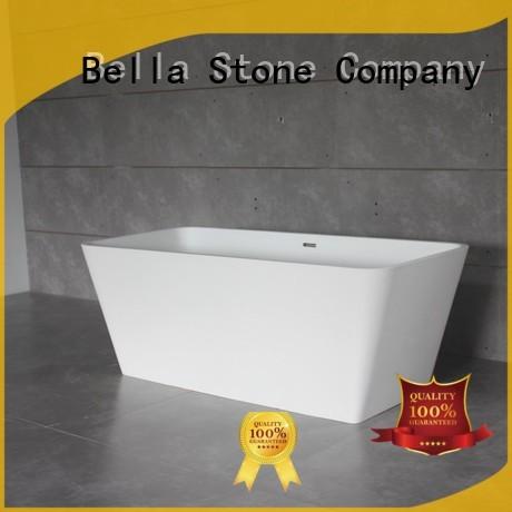 Bella Brand pure artificialstone designer deep freestanding tub