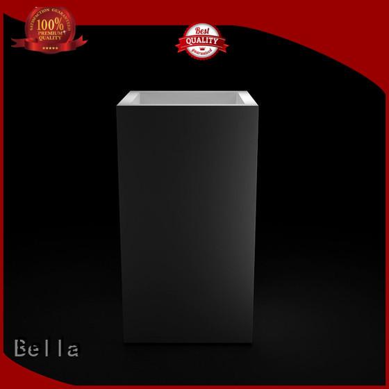 pedestal basin sink Chrome Slate Bella Brand pedestal basin