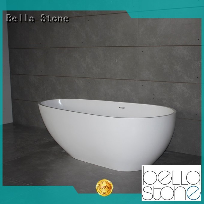acrylic freestanding deep freestanding tub modified Bella Brand company