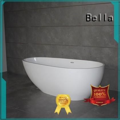 freestanding resin Bella Brand deep freestanding tub