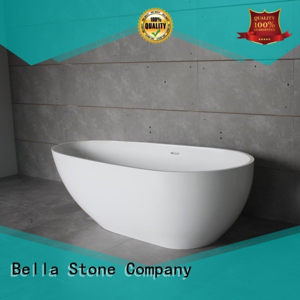 capital designer deep freestanding tub freestanding artificialstone Bella company