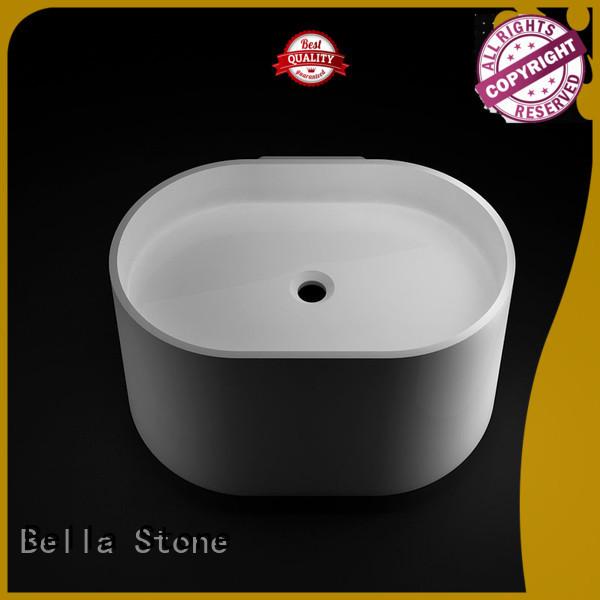 Hot above counter basins ResinStone Bella Brand