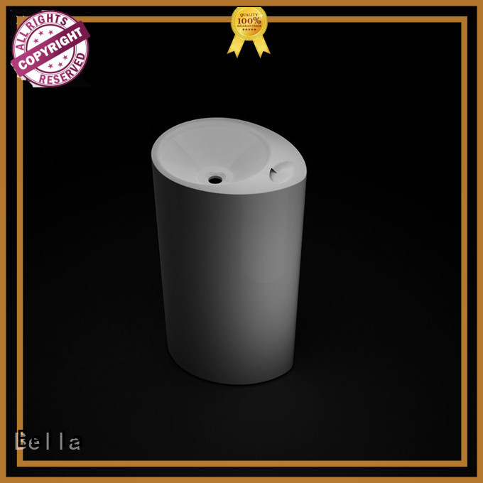 freestanding Chrome SolidSurface pedestal basin sink Bella Brand