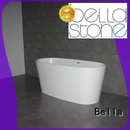 resin solidsurface freestanding Bella Brand deep freestanding tub supplier