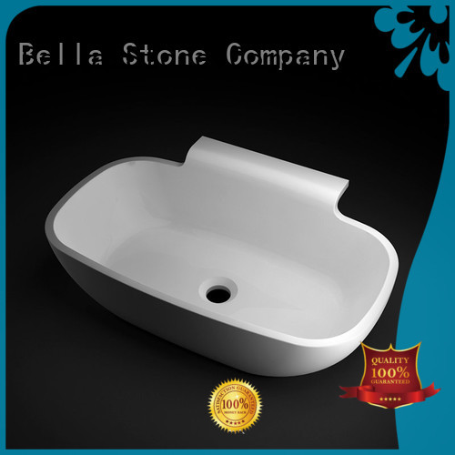 Quality Bella Brand Slate vanity above counter basins
