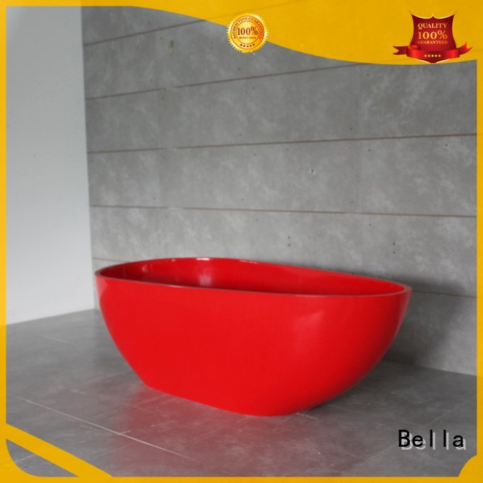 Bella surface deep freestanding tub acrylic resin