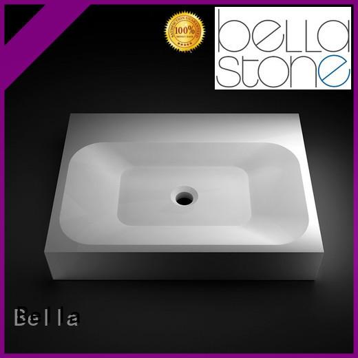vanity countertop Slate above counter basins Bella Brand