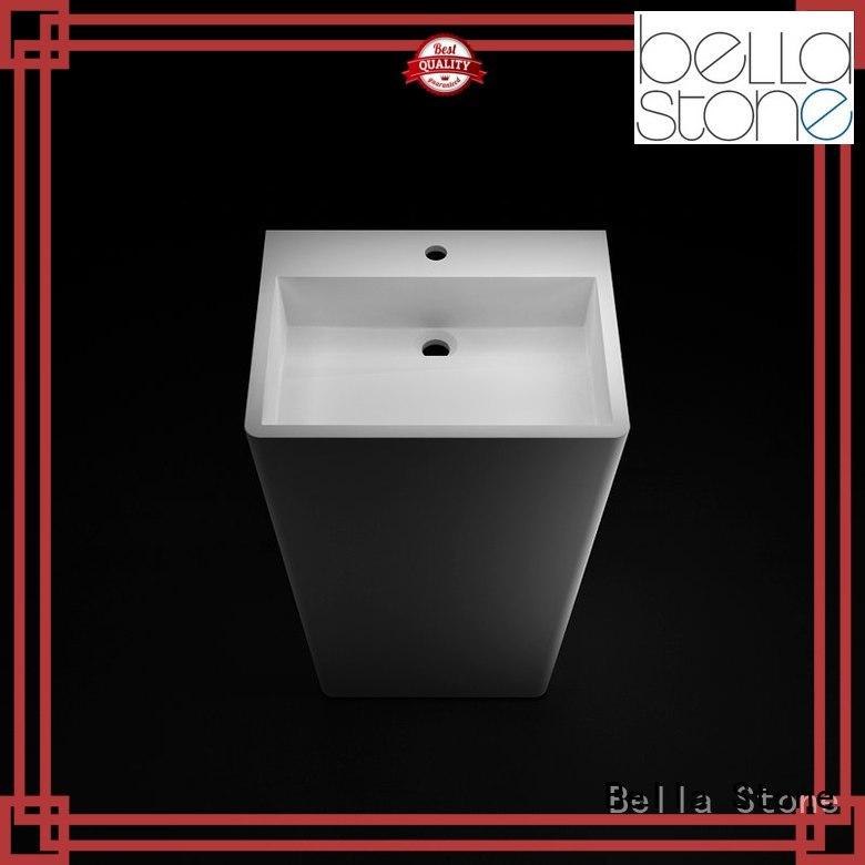 pedestal basin sink pedestal Matte Bella Brand company