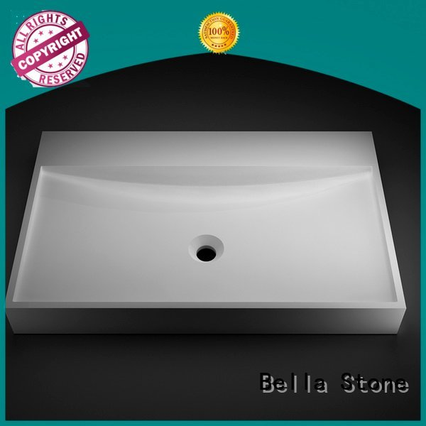 Bella counter wash basin price above