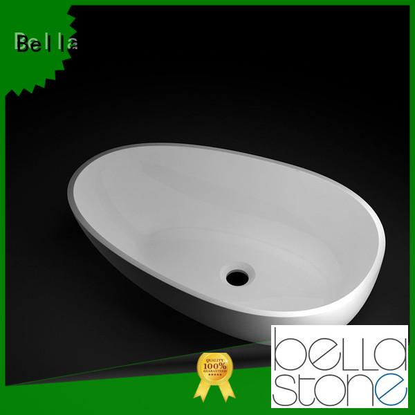 countertop Matte ResinStone Bella Brand above counter basins supplier