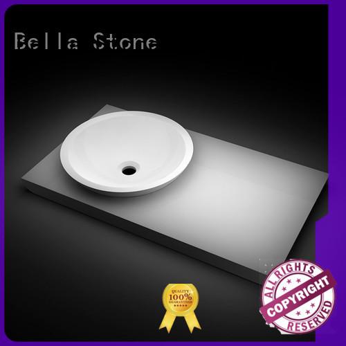 Hot above counter basins Quartz Bella Brand
