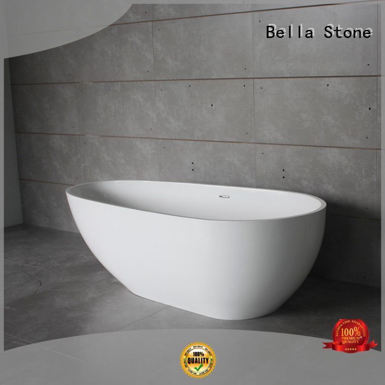 freestanding resin designer deep freestanding tub Bella