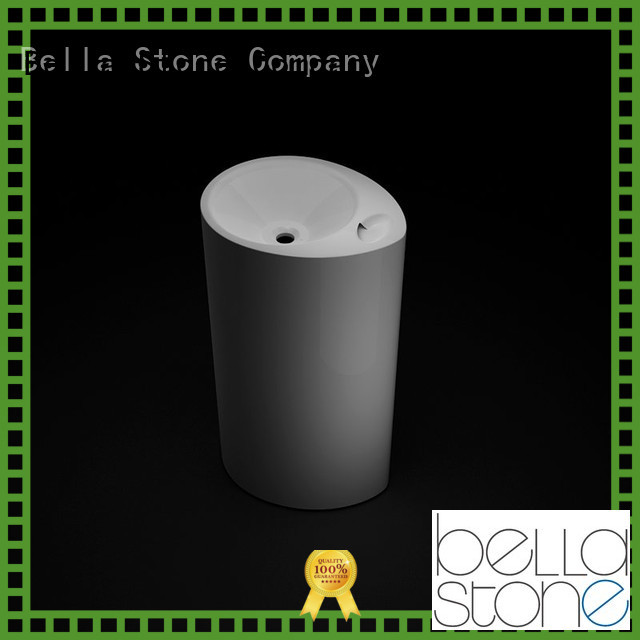 Bella Brand Slate Matte pedestal basin pedestal factory