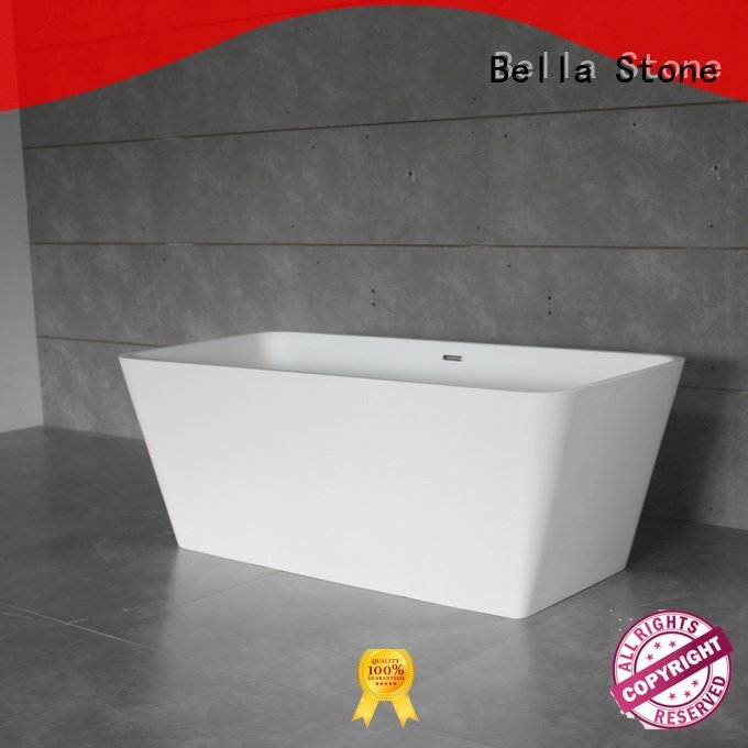 60 freestanding bathtub designer resin deep freestanding tub Bella Warranty