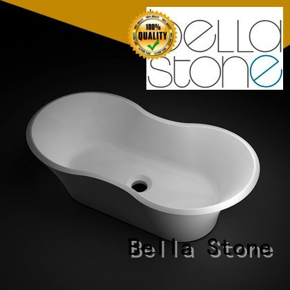 Wholesale Solid Surface wash basin price Bella Brand