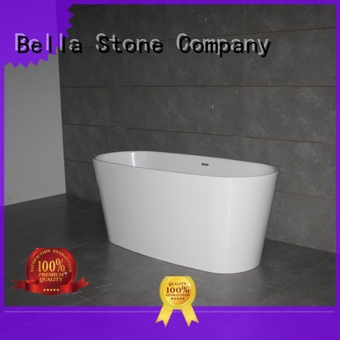 60 freestanding bathtub artificialstone freestanding Bulk Buy resin Bella
