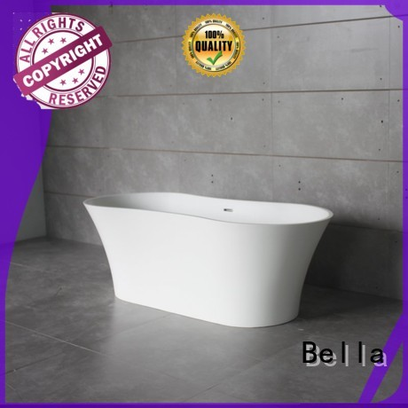 solidsurface capital artificialstone Bella Brand deep freestanding tub supplier