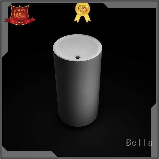 pedestal basin sink ResinStone pedestal Bella Brand company